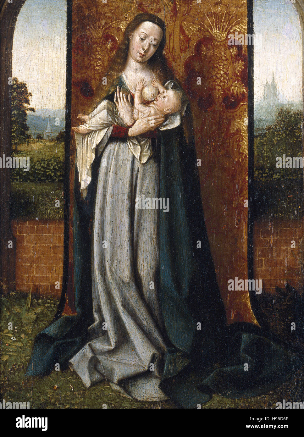 JAN PROVOST - Virgin and Child - 1500 - Stock Image