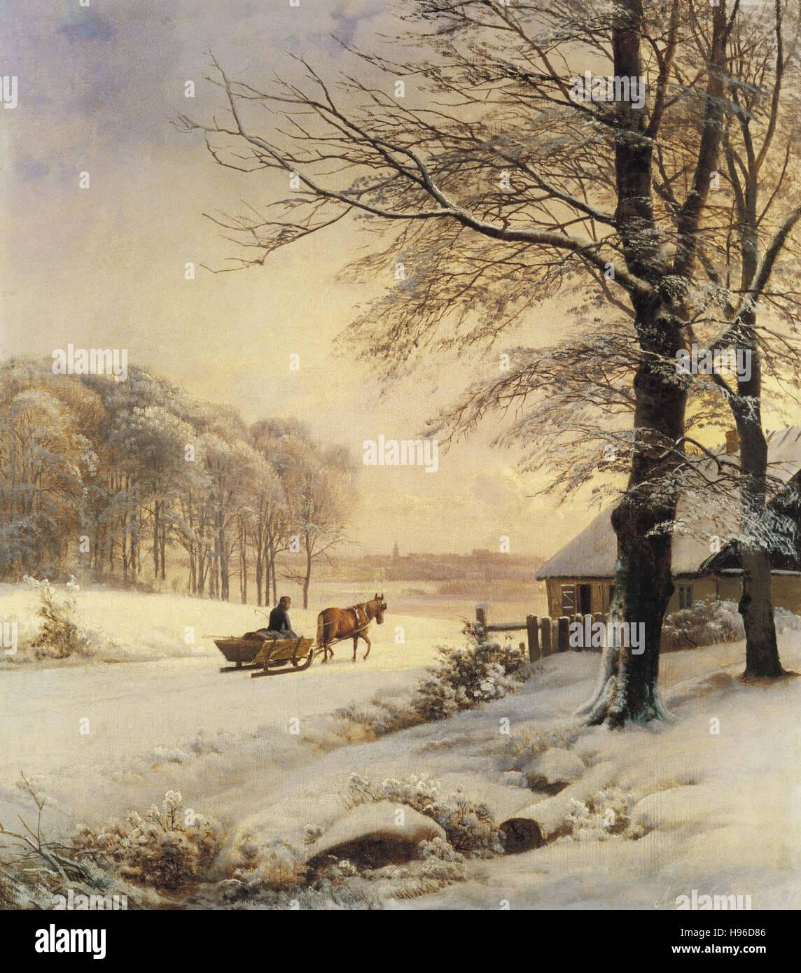 Anders Andersen Lundby   Homeward Bound - Stock Image