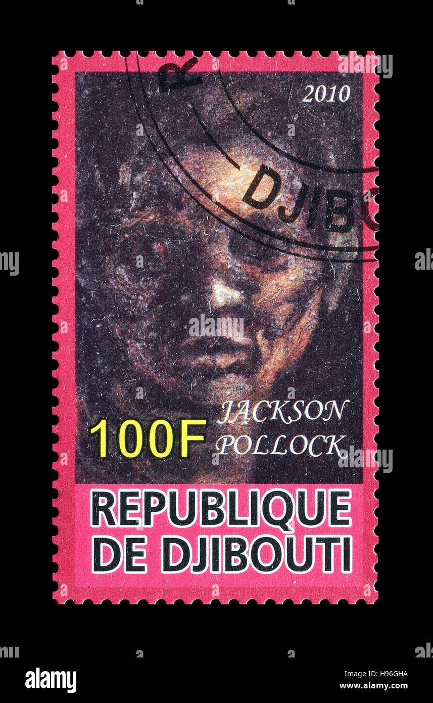 Djibouti stamp 2010 - Stock Image