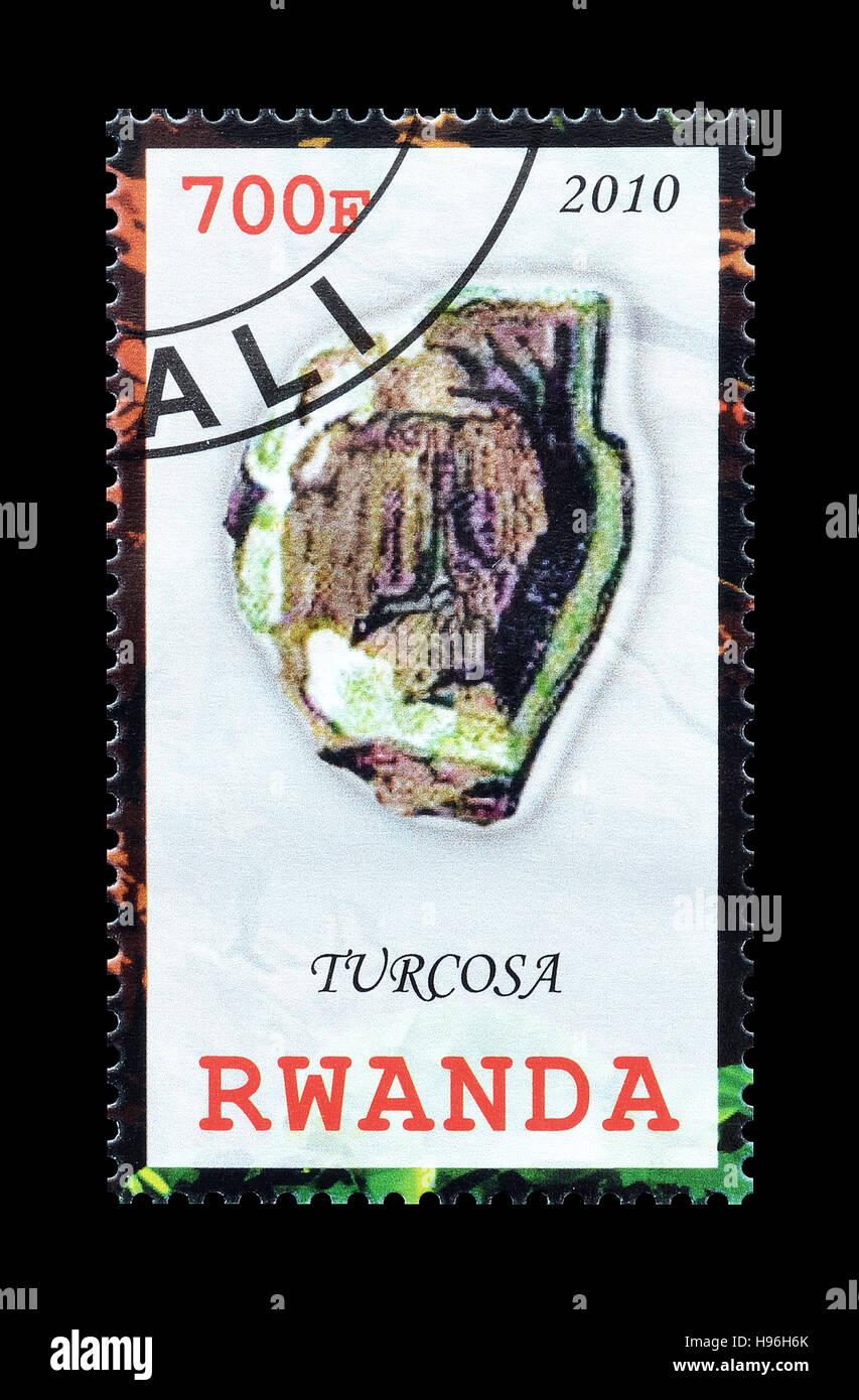 Rwanda stamp 2010 - Stock Image