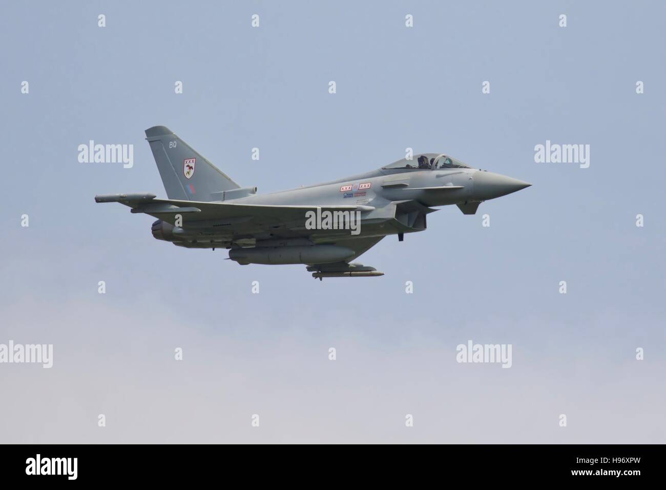Eurofighter Typhoon FGR4 - Stock Image