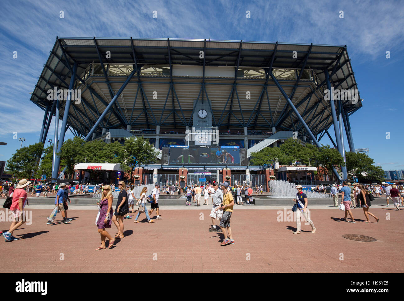 Arthur Ashe Stadium, US Open Championships 2016 - Stock Image
