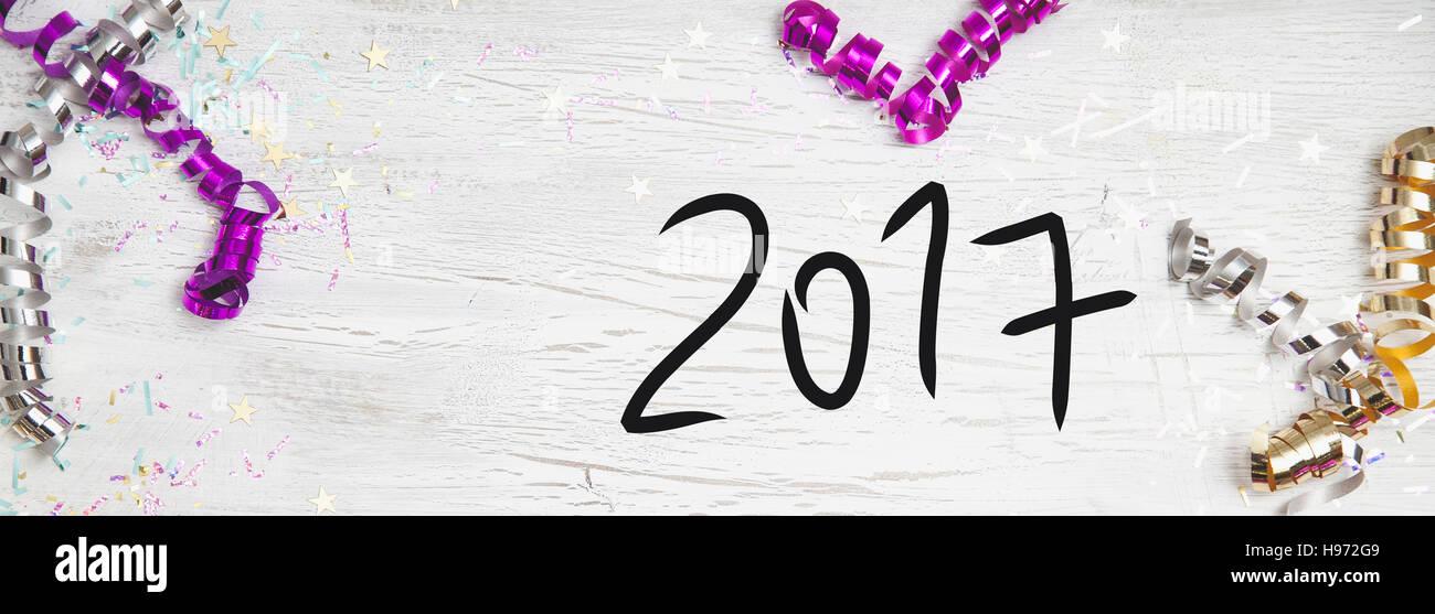 New Years Eve Background - Stock Image