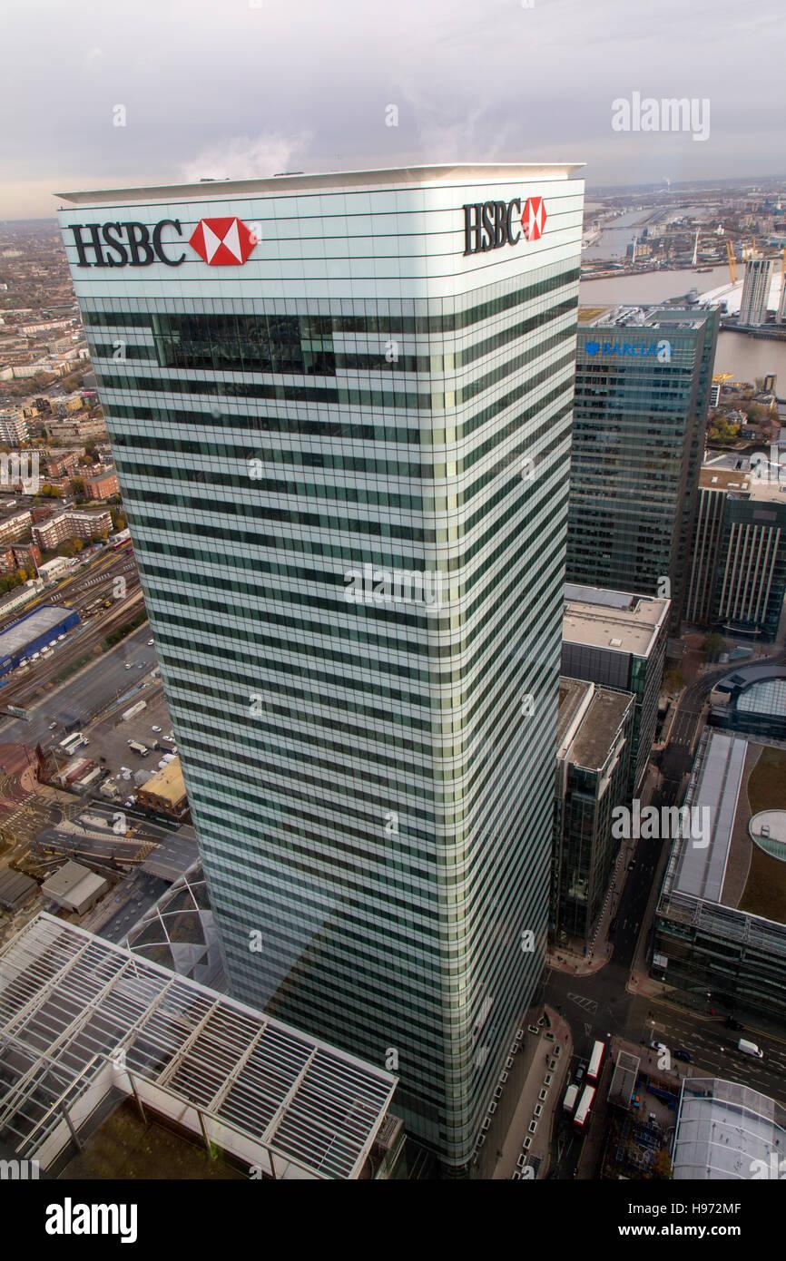 Hsbc Canary Wharf Stock Photos & Hsbc Canary Wharf Stock Images - Alamy