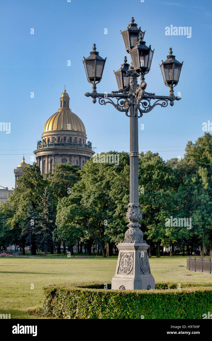 St Isaacs cathedral. St Petersburg. Russia Stock Photo