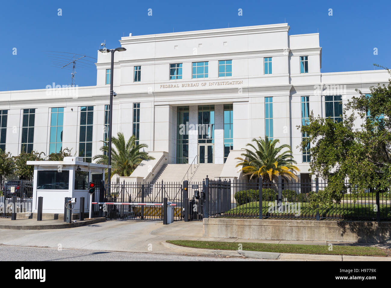 The Federal Bureau of Investigation (FBI) Field Office in Mobile, Alabama. - Stock Image