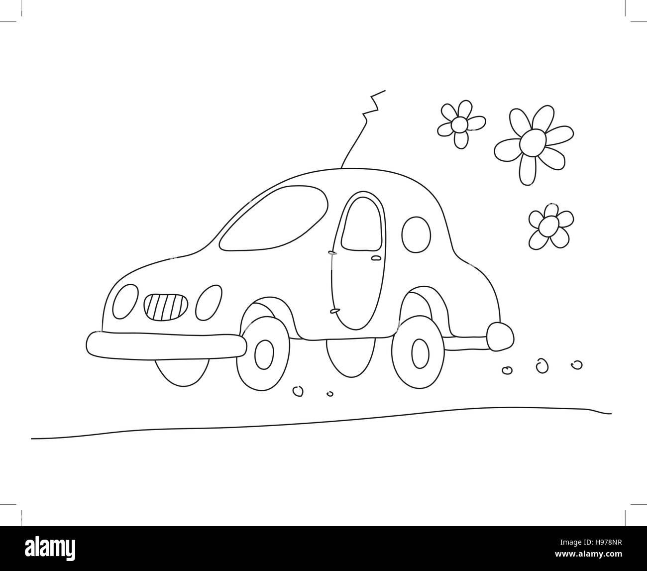 eco-car - Stock Image