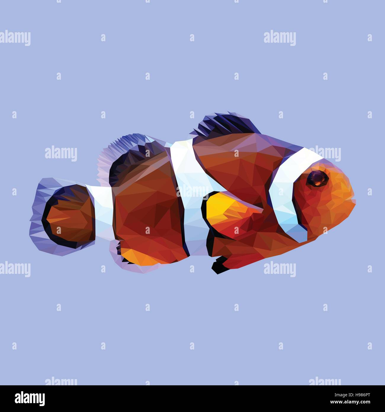 Clownfish Stock Vector Images - Alamy