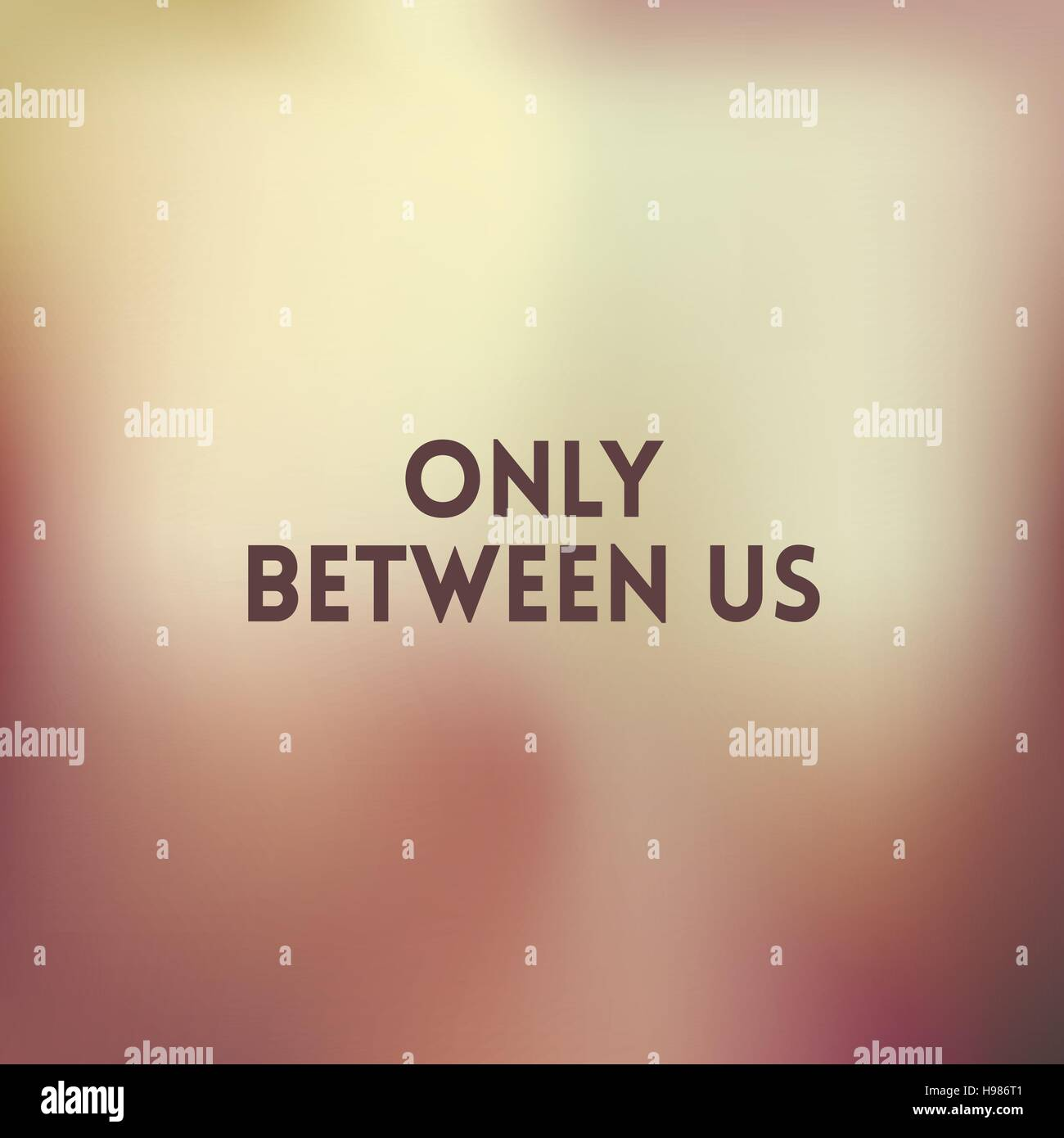 The Space Between Us Stock Vector Images Alamy