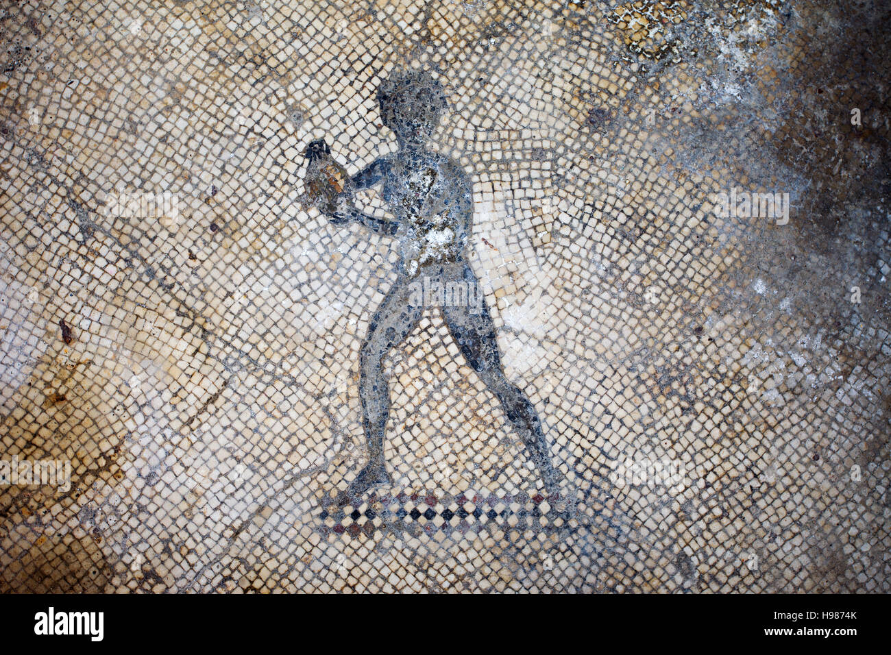 Casa & Co Milazzo page 2 - roman mosaic pavement high resolution stock