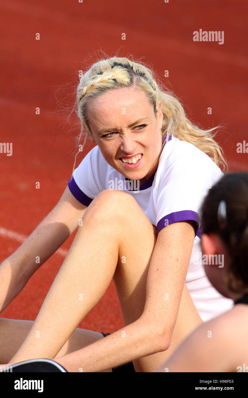 Eilish McColgan Stock Photo