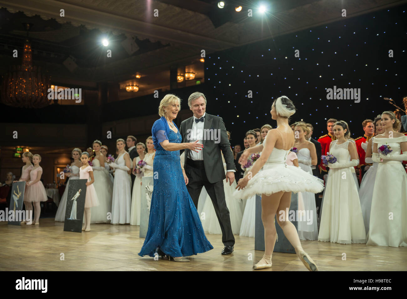 London, UK. 19th November, 2016. Patron Princess Olga Romanoff(blue ...