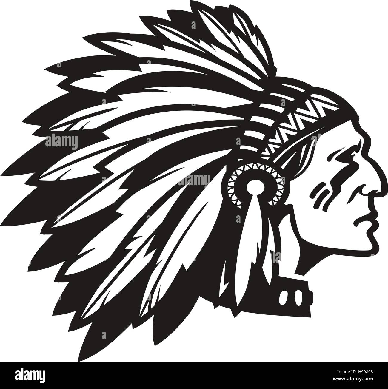 american indian chief stock photos   american indian chief Standing Indian Chief Clip Art Standing Indian Chief Clip Art