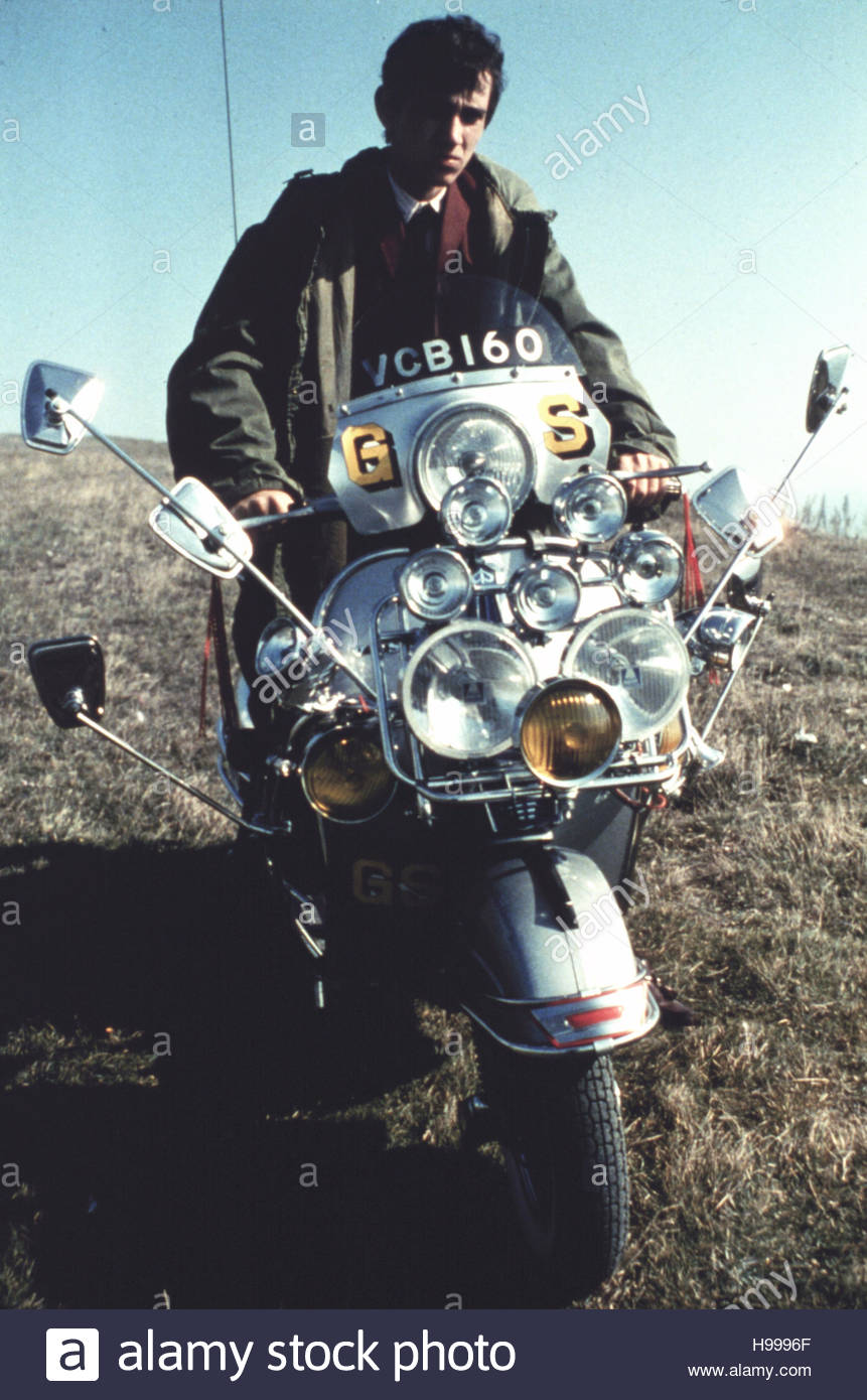 QUADROPHENIA (1979) - Phil Daniels.  Editorial use only.  Copyright belongs to film company. - Stock Image