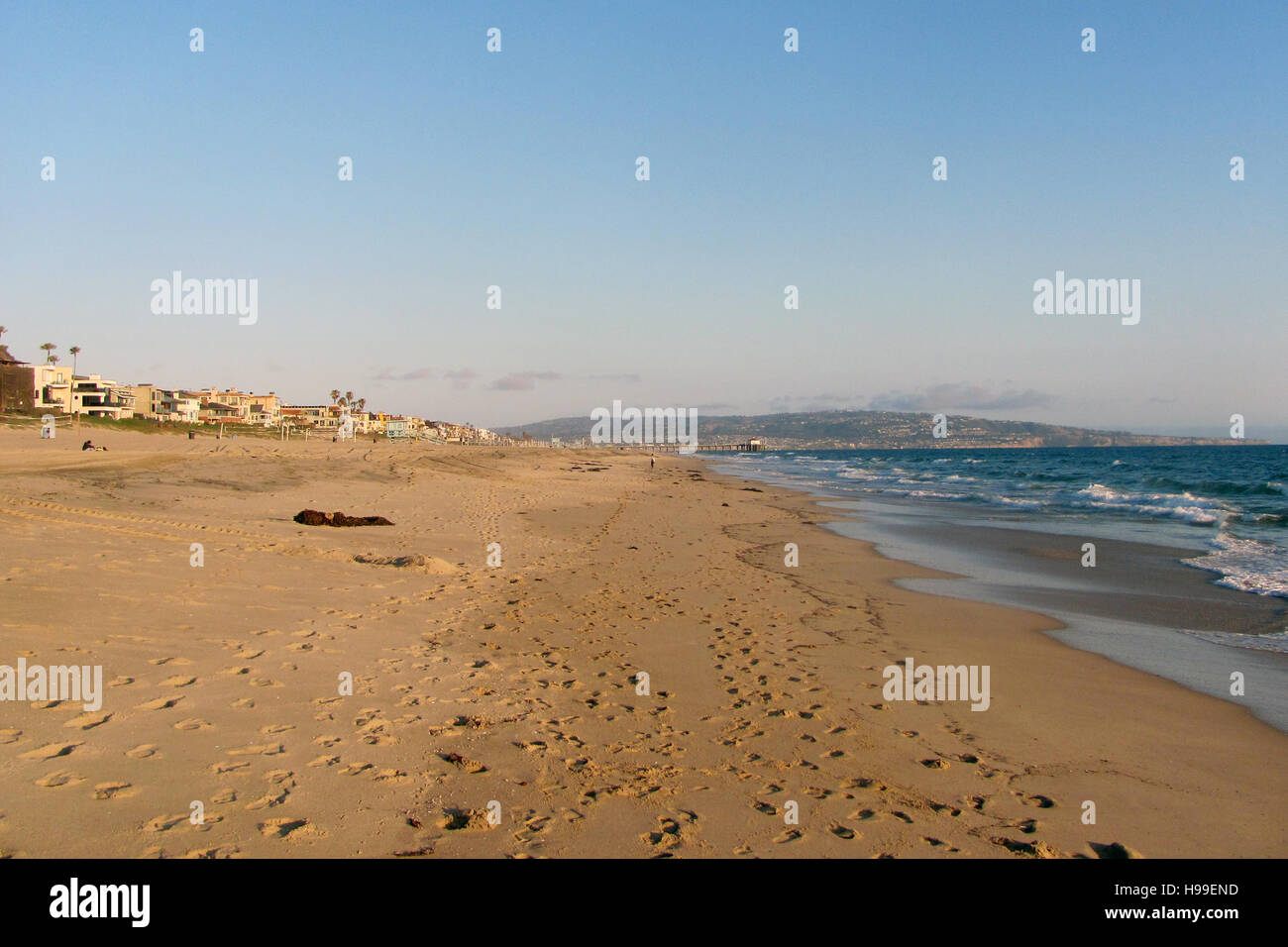 Manhattan Beach, California USA - Stock Image