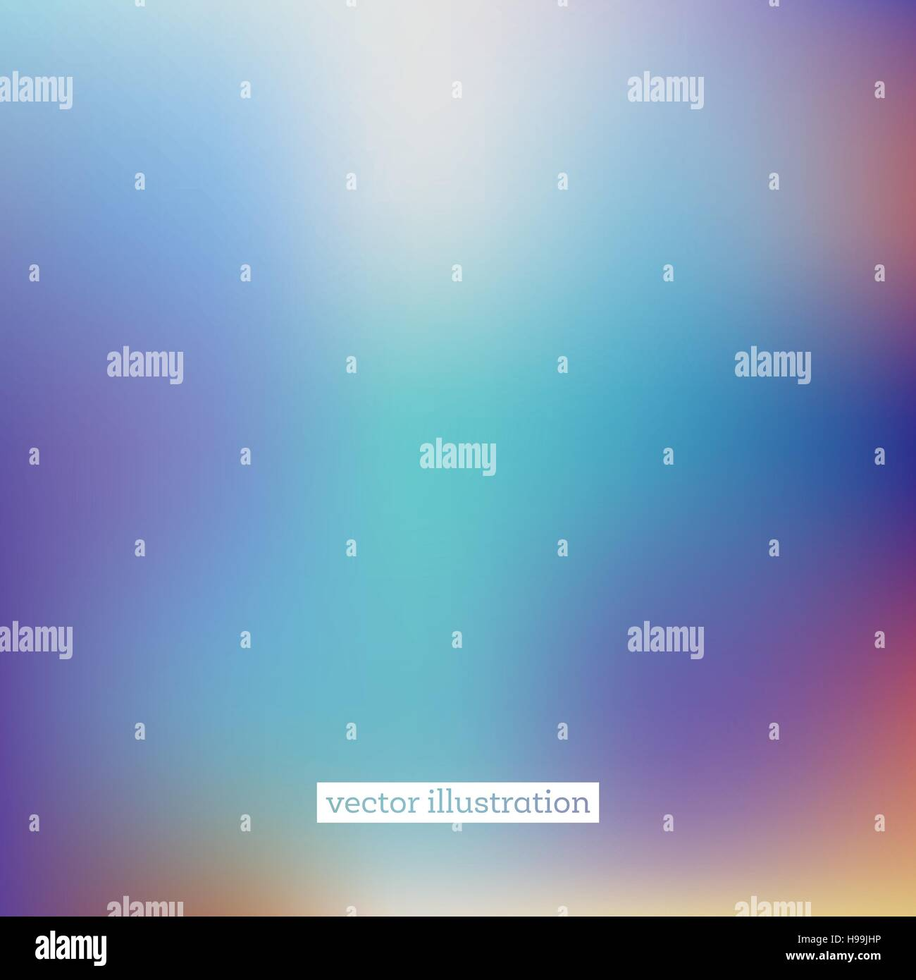 Abstract Blurred Background in Bright Colors. Vector Illustration. - Stock Vector