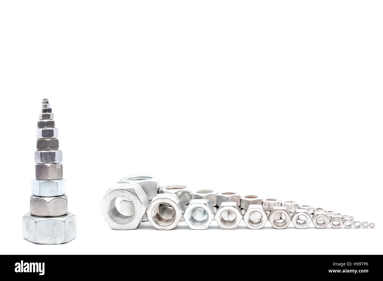 M30 Stock Photos Images Alamy Engine Diagram Several Iron Bolts From To M3 Big Small Image