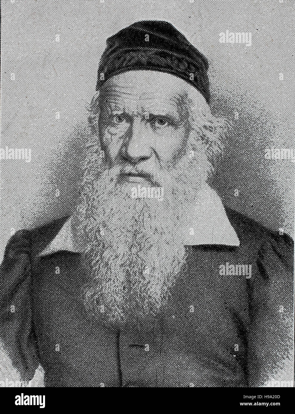 Friedrich Ludwig Jahn, 11 August 1778 - 15 October 1852, was a German gymnastics educator and nationalist. His admirers - Stock Image