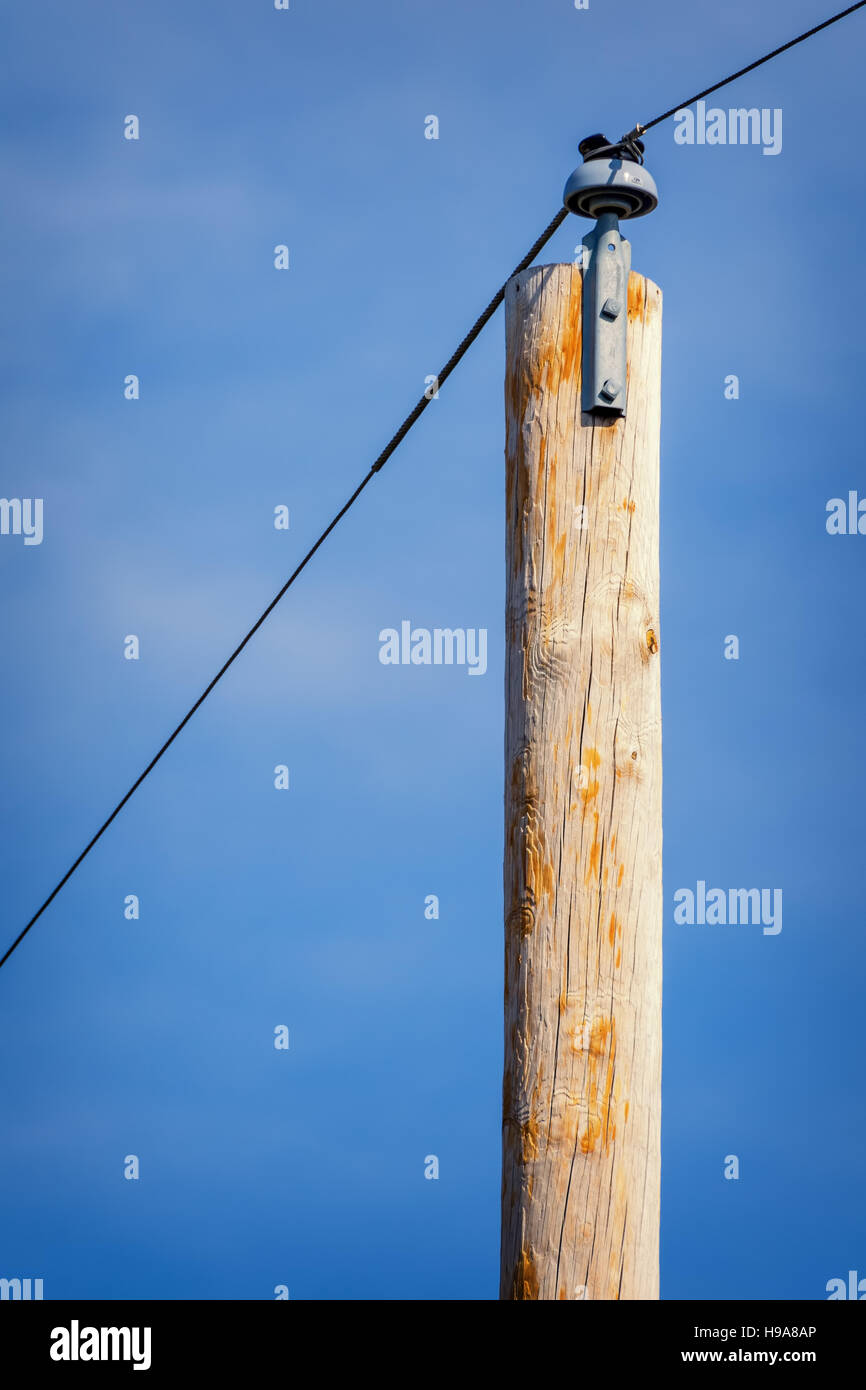 Guy Wire Pole Stock Photos Amp Guy Wire Pole Stock Images