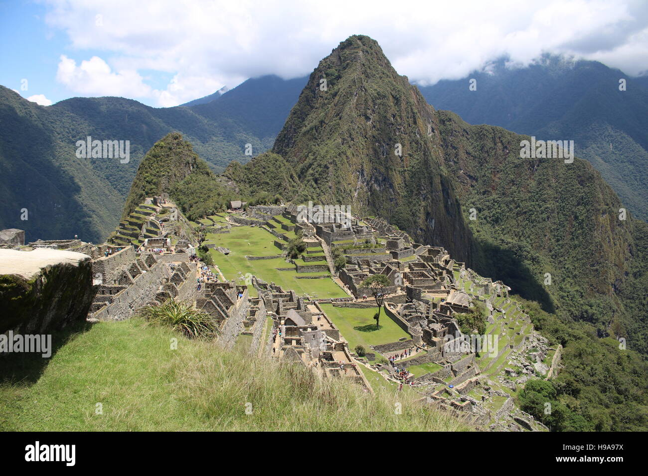 Machu Picchu - Aguas Calientes - Cusco - Stock Image