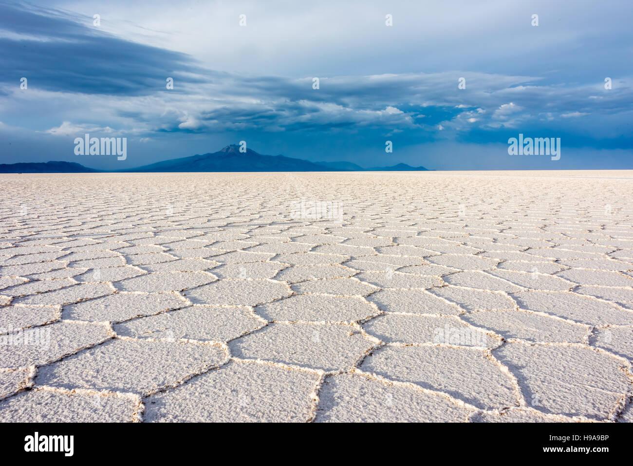 Bolivian Salt Flats - Stock Image