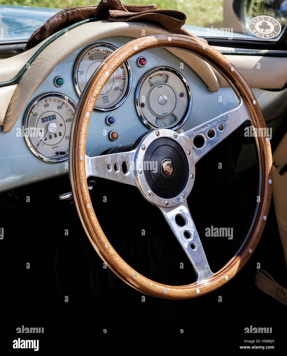 Porsche Speedster Interior Stock Photo 126264497