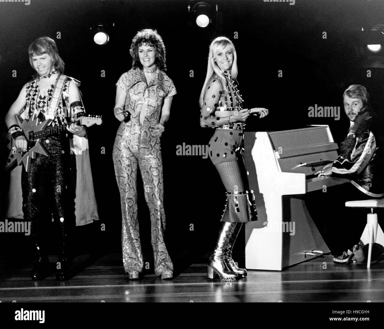 Anni Frid Lyngstad Black and White Stock Photos & Images - Alamy