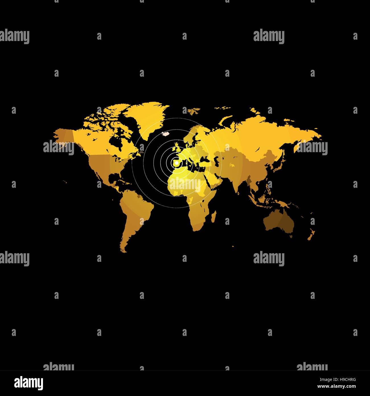 Orange color world map on black background globe design backdrop orange color world map on black background globe design backdrop cartography element wallpaper geographic locations image continents vector illustration gumiabroncs Image collections