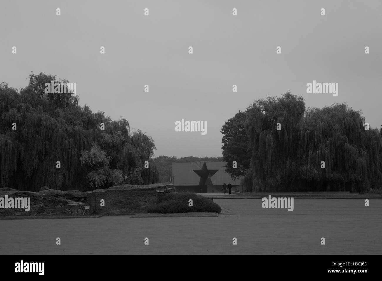 Brest Fortress. Memorial to fallen heroes. - Stock Image