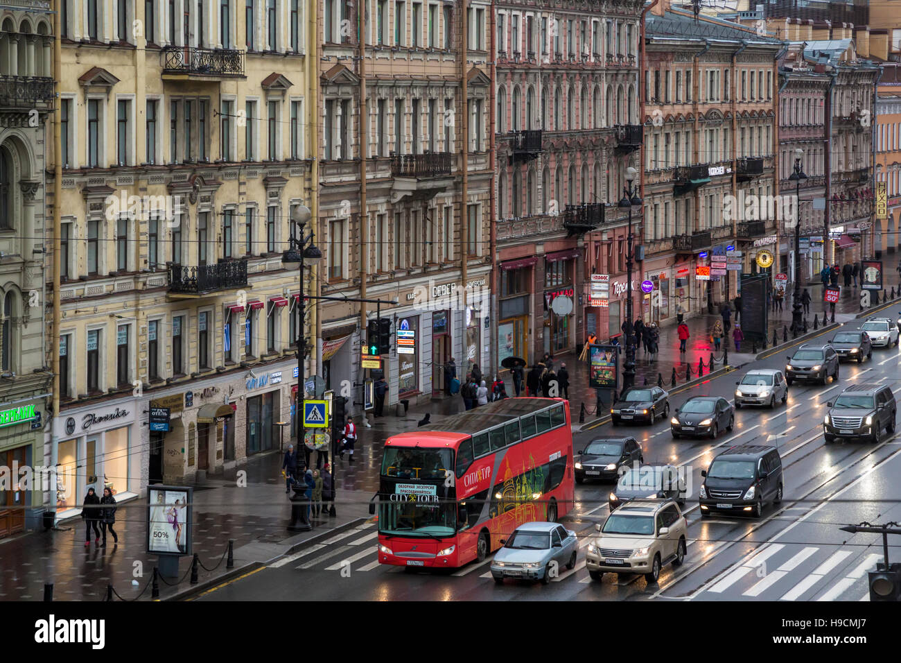 Movement on Nevsky Prospect will be limited 61