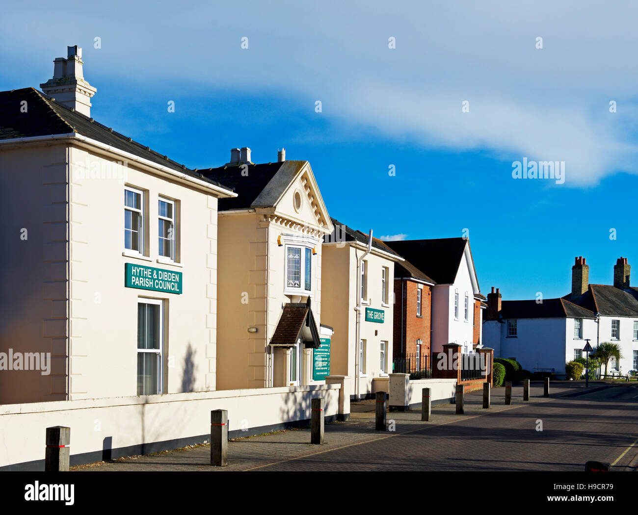 Council offices in Hythe, Hampshire, England UK - Stock Image
