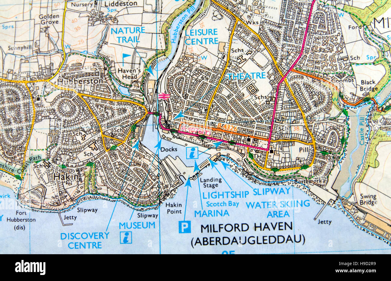 Milford Haven Wales United Kingdom Cruise Port of Call