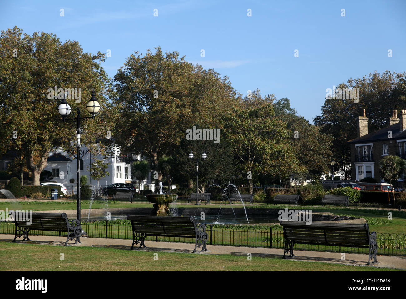 Prittlewell Square, Southend on Sea, Essex Stock Photo