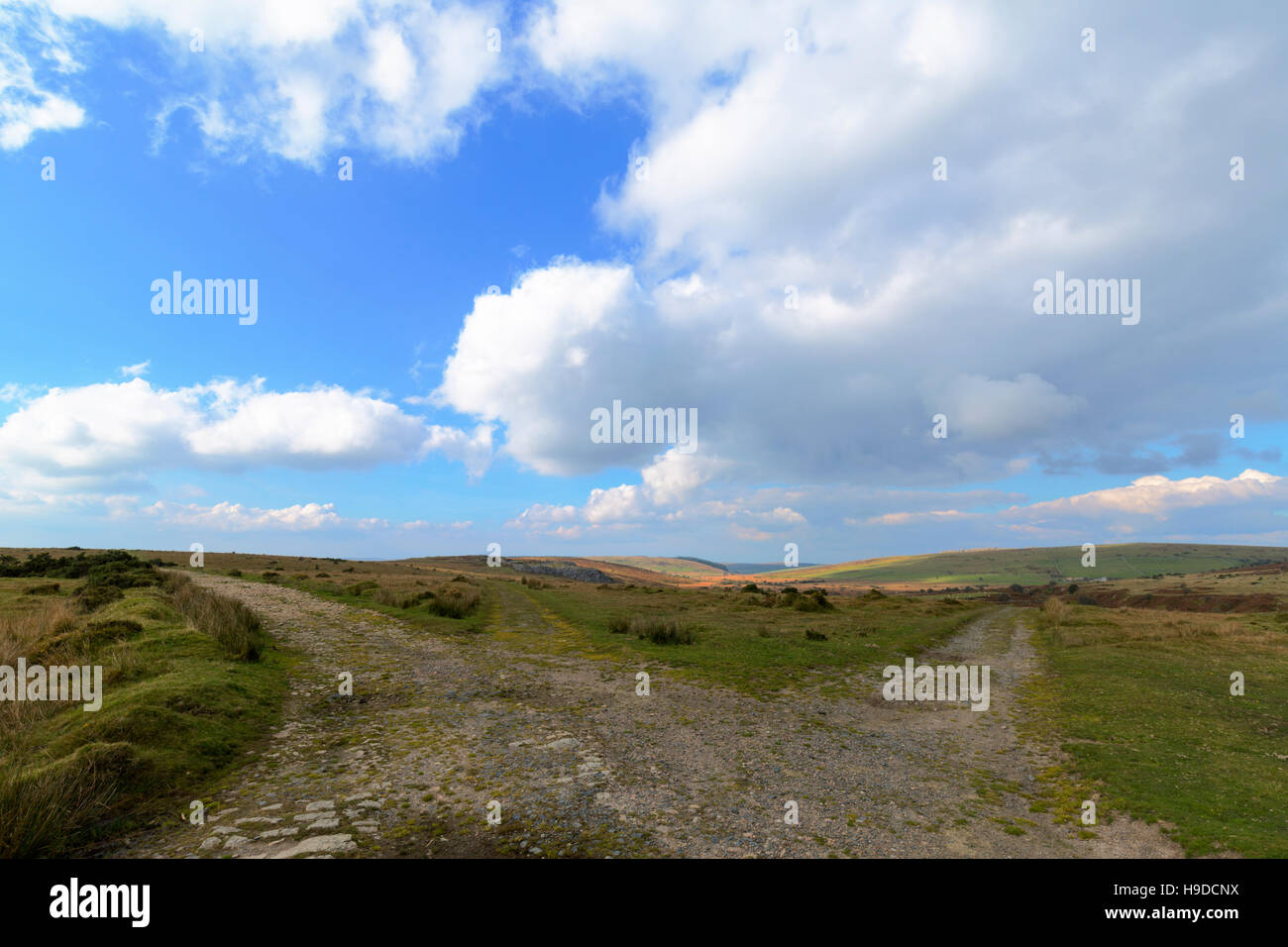 Film location spot opening scenes of current series of Poldark shot here. - Stock Image