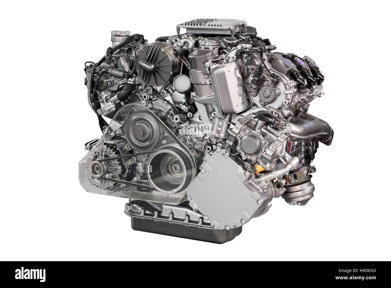 Internal Combustion Engine Cut Out Stock Images & Pictures - Alamy