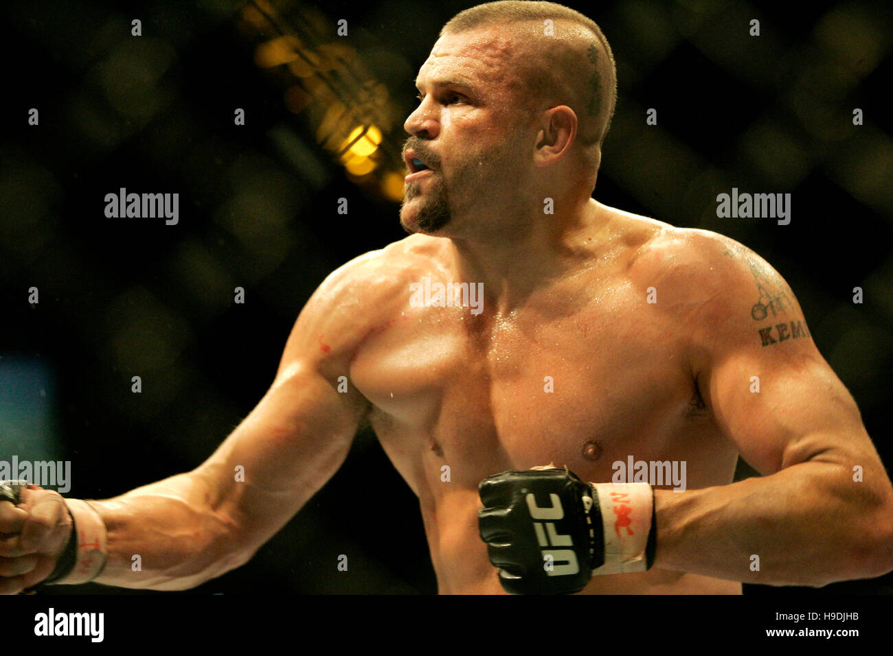 Chuck Liddell at the Ultimate ...