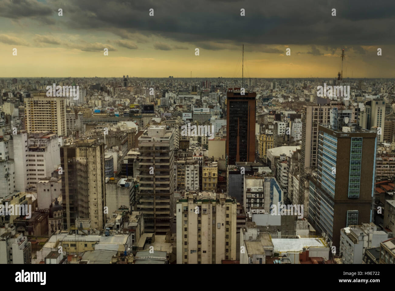 Buenos Aires city. - Stock Image