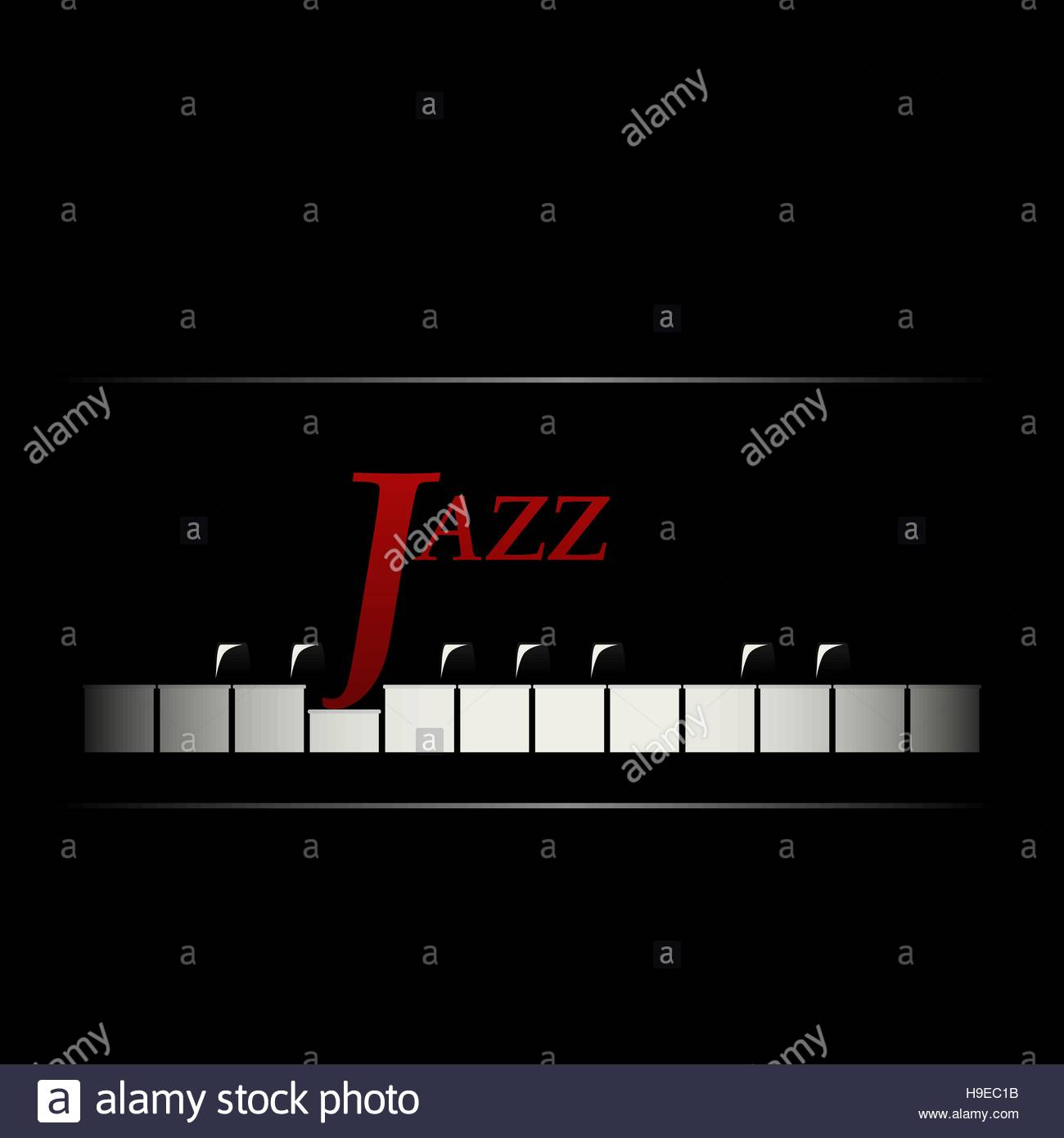 Jazz cafe concept abstract piano keyboard musical creative stock jazz cafe concept abstract piano keyboard musical creative invitation stopboris Image collections