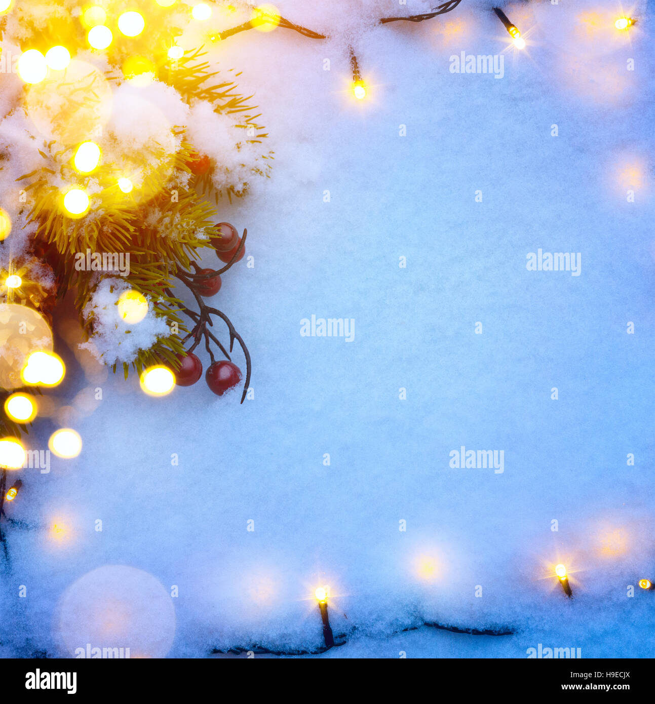 blue christmas background with snow fir tree and holidays light stock photo alamy https www alamy com stock photo blue christmas background with snow fir tree and holidays light christmas 126321746 html