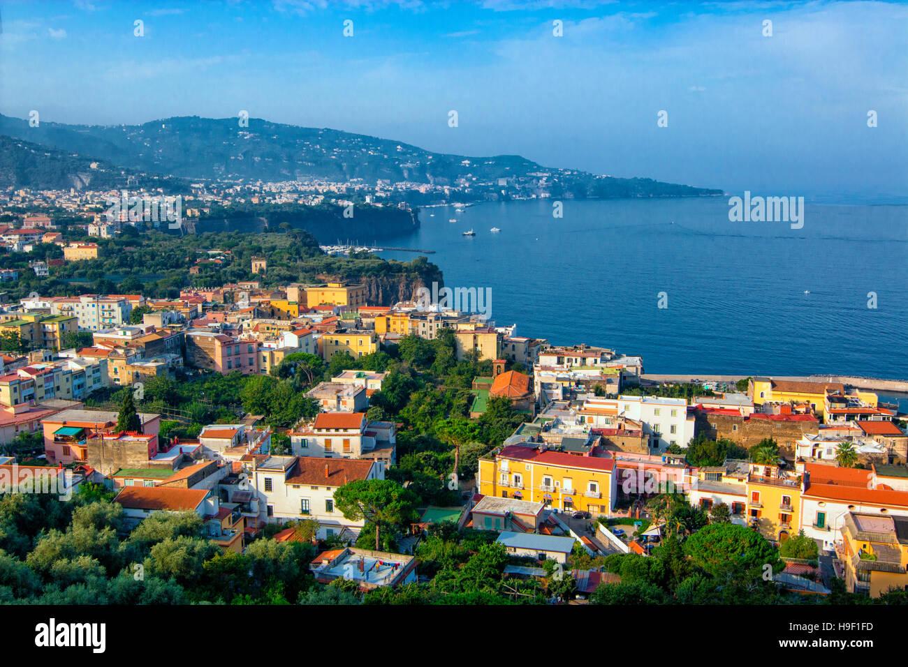 Sorrento, Gulf of Naples, Campania, Italy - Stock Image