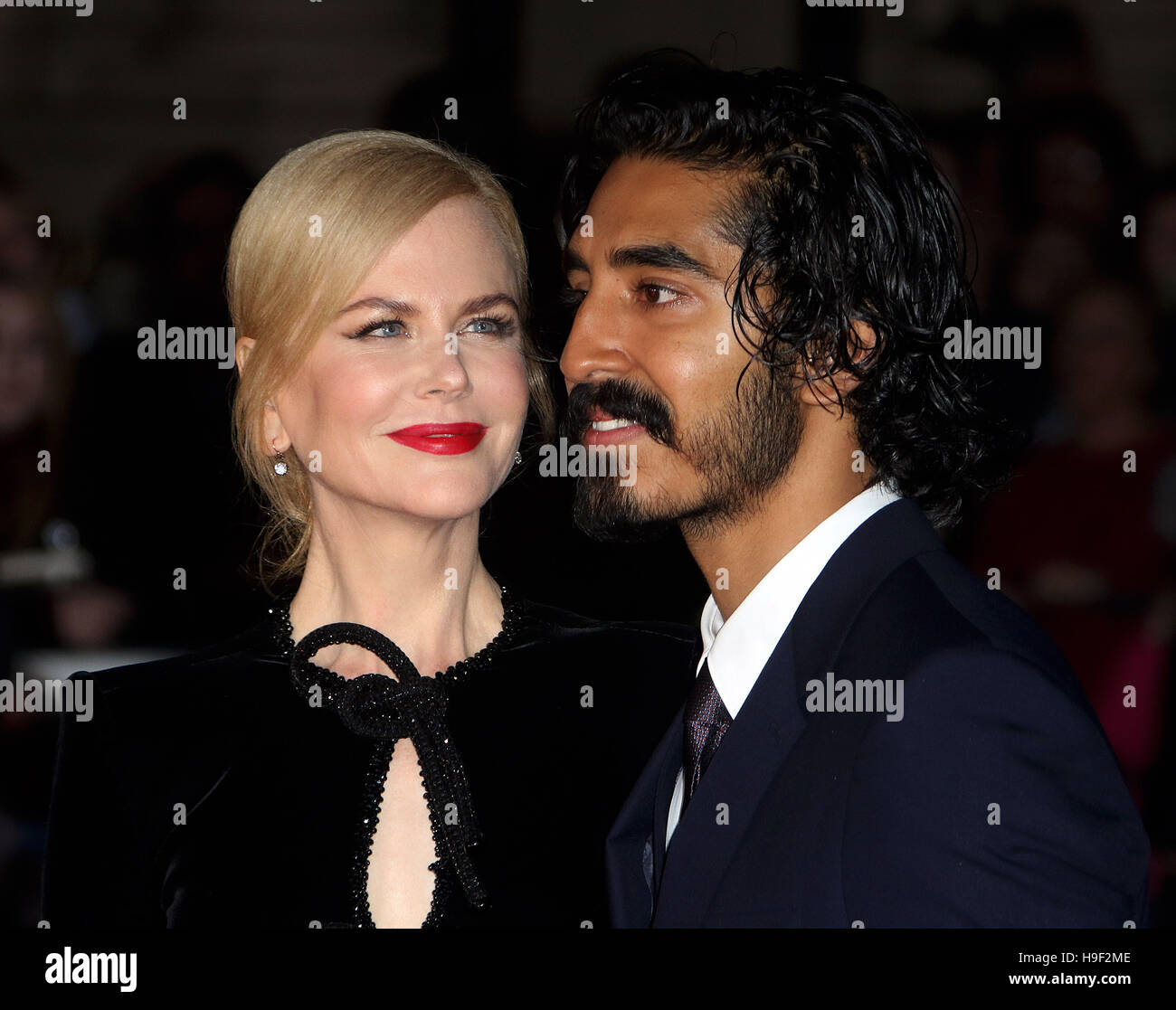 October 12, 2016 - Nicole Kidman and Dev Patel attending 'Lion' American Express Gala - 60th Annual BFI - Stock Image