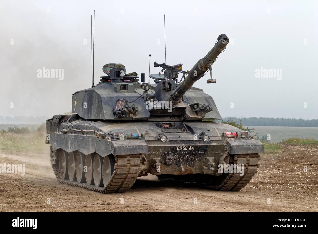 b990f49d8da8 British Army Challenger 2 Main Battle Tank on the Salisbury Plain Military  Training Area in Wiltshire