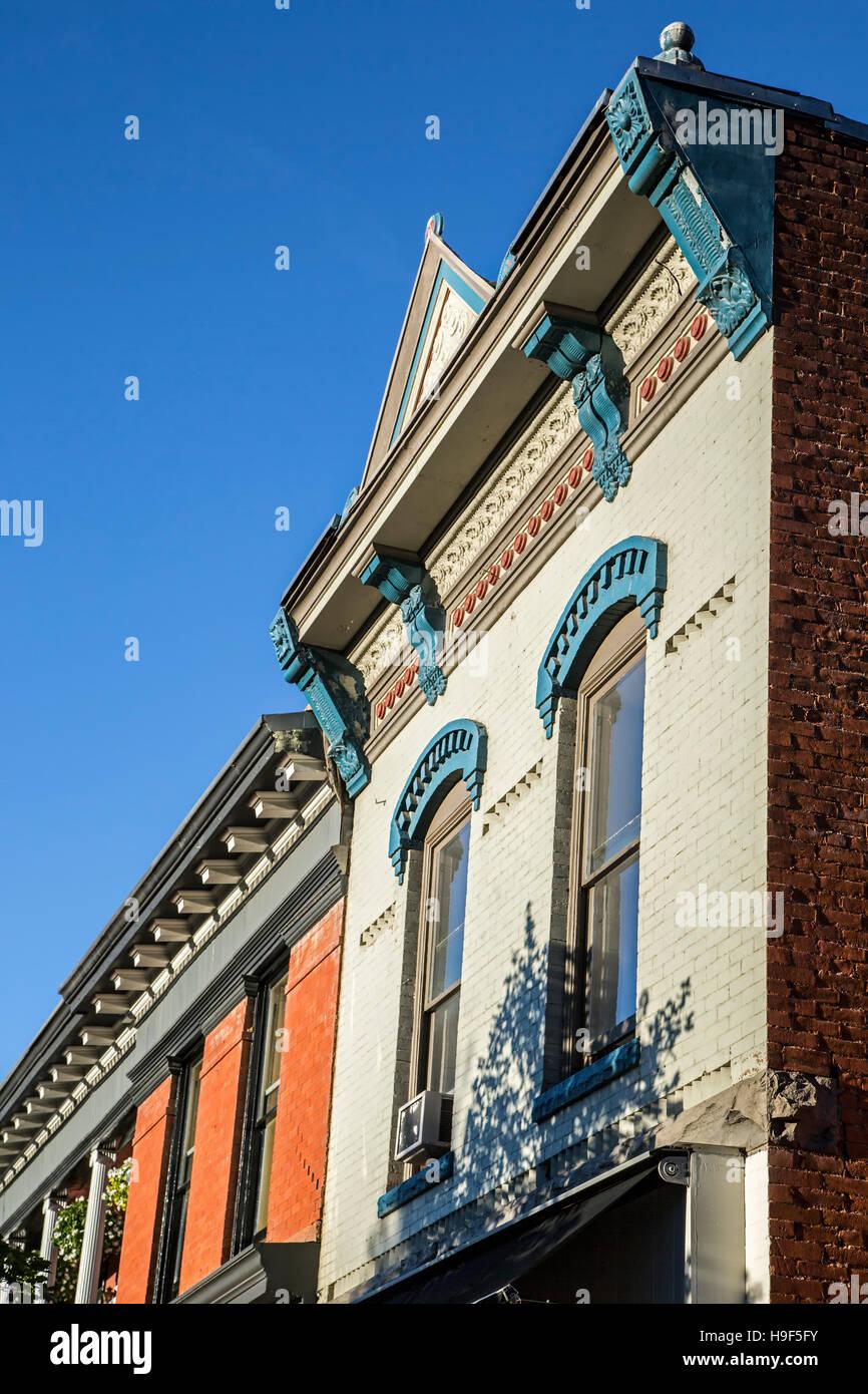 Victorian architecture, Aspen, Colorado USA Stock Photo