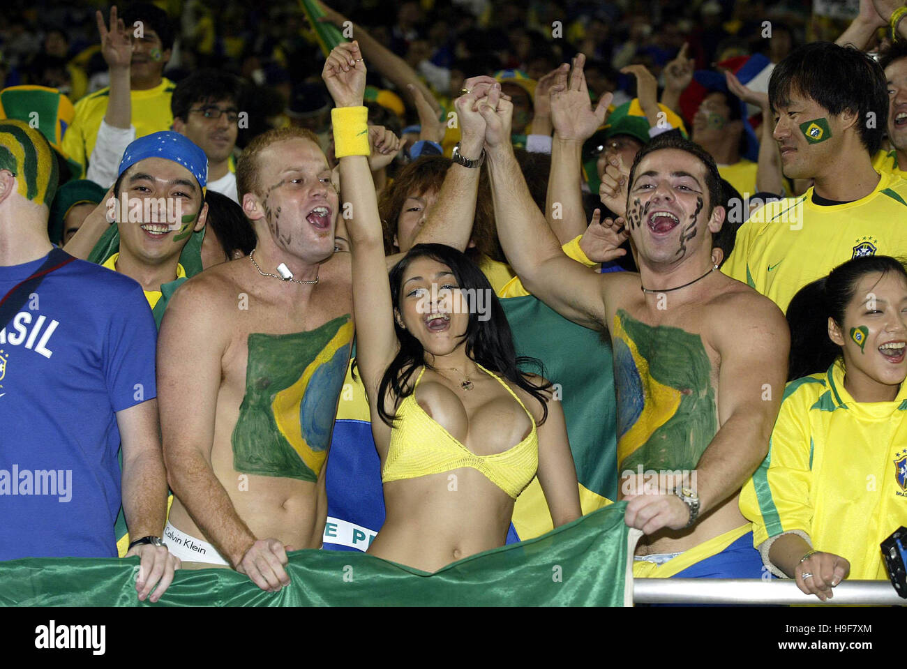 Brazil world cup fans more than