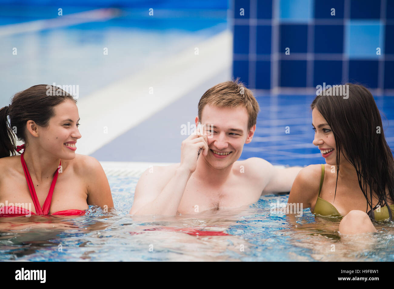 Whores in Pool