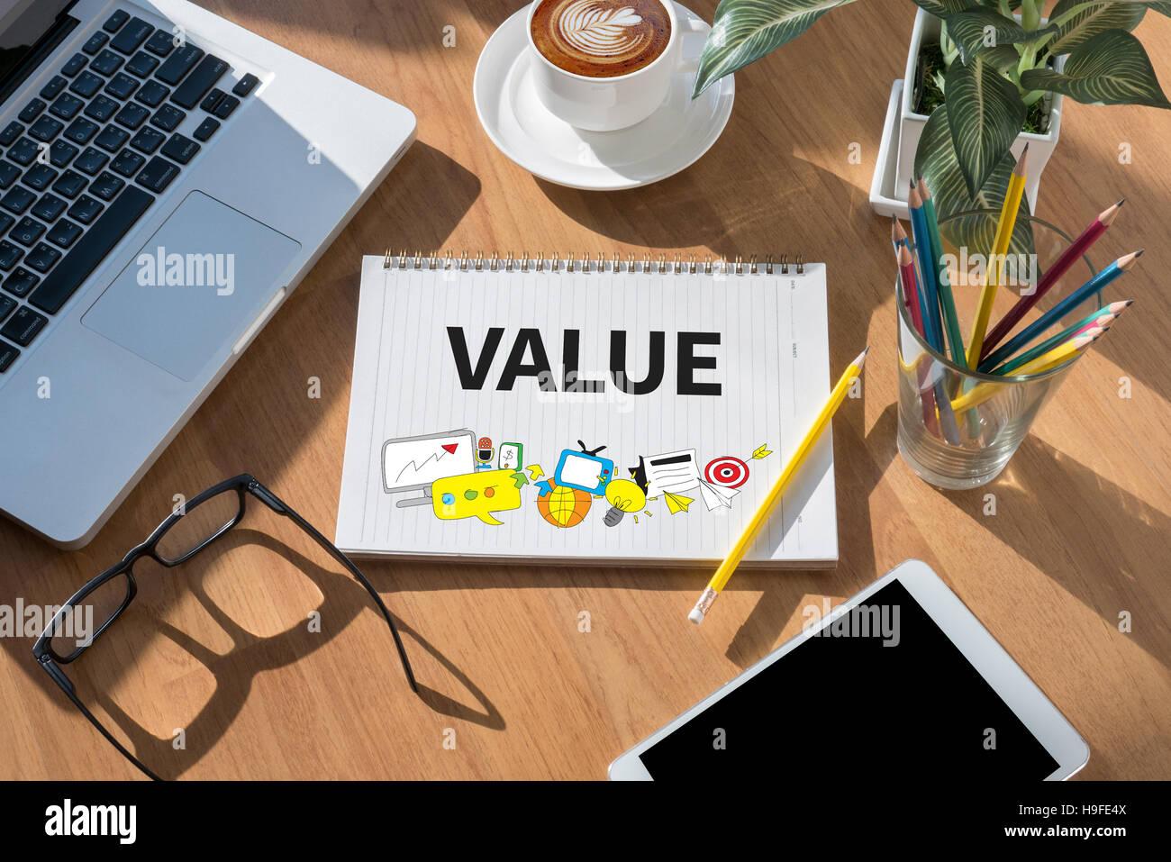 Value - Stock Image