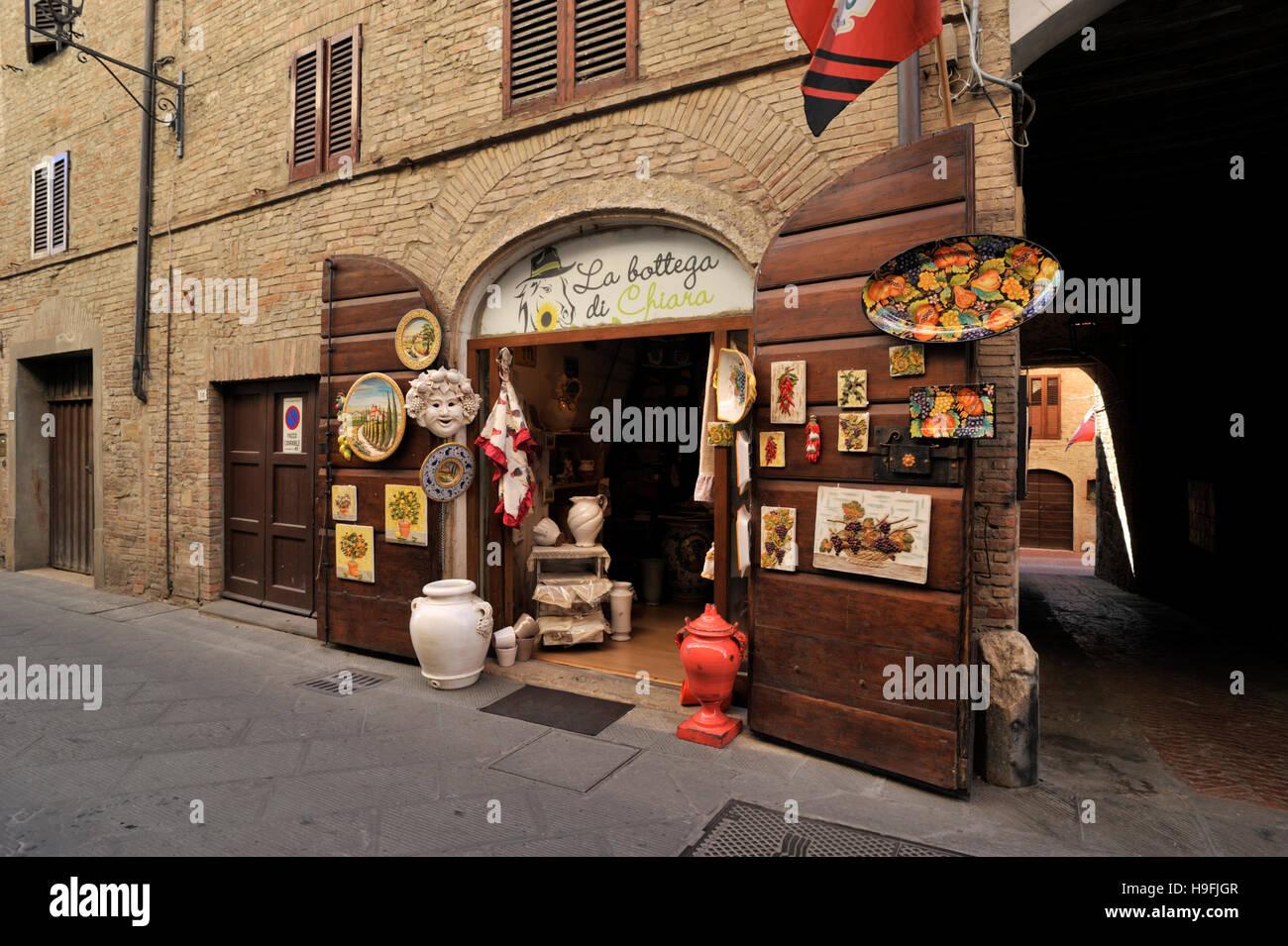 casole d'elsa, tuscany, italy Stock Photo