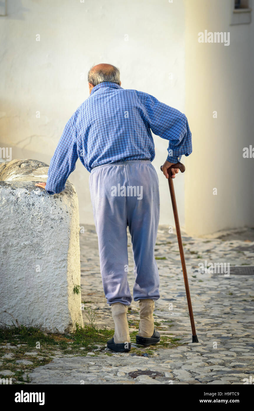 Old Man Walking Stick Stock Photos Amp Old Man Walking Stick