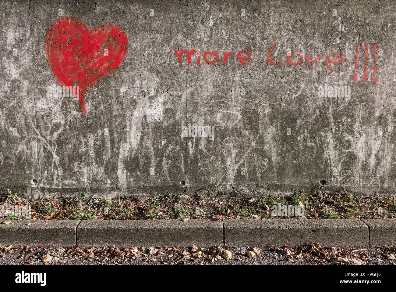 more love !!! - Stock Image