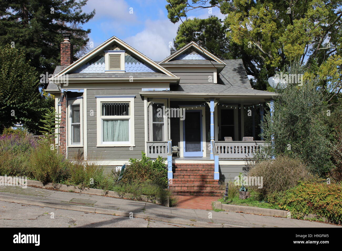 Queen Anne Cottage, Sevastopol, Calkifornia - Stock Image